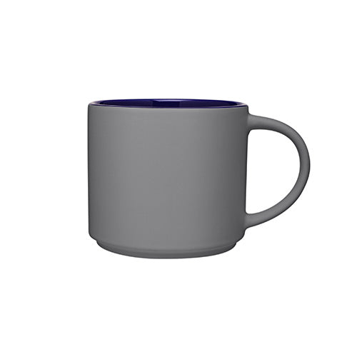Blank 16 oz Monaco Gray Ceramic Mug,[wholesale],[Simply+Green Solutions]