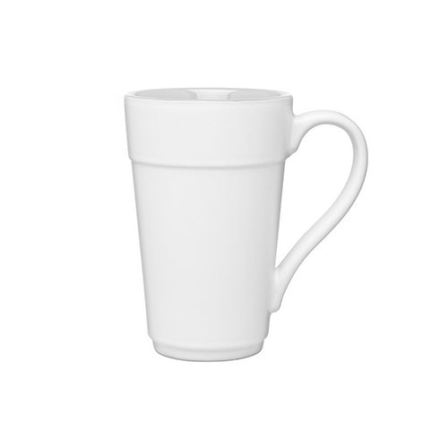 16 oz Stride White Ceramic Mug,[wholesale],[Simply+Green Solutions]