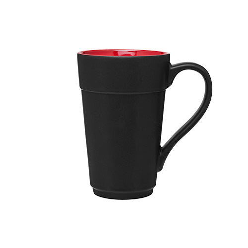 16 oz Stride Black Ceramic Mug,[wholesale],[Simply+Green Solutions]
