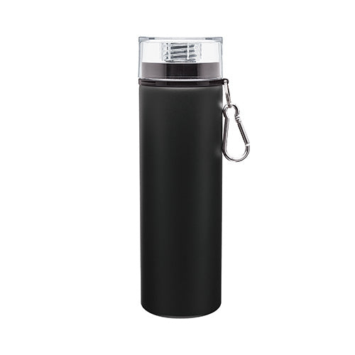 28 oz SGS Trek Matte Black Aluminum Bottle,[wholesale],[Simply+Green Solutions]