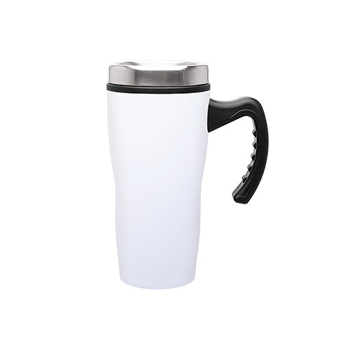Blank 16 oz Double Wall Insulated Stainless Steel Stealth Mug with Plastic Liner,[wholesale],[Simply+Green Solutions]
