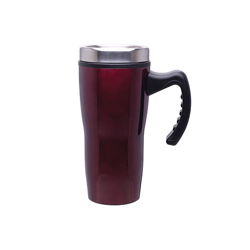 16 oz Double Wall Insulated Stainless Steel Stealth Mug with Plastic Liner,[wholesale],[Simply+Green Solutions]