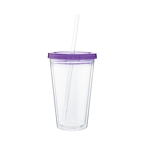 Blank 16 oz Spirit Acrylic Tumbler w/Color lid,[wholesale],[Simply+Green Solutions]