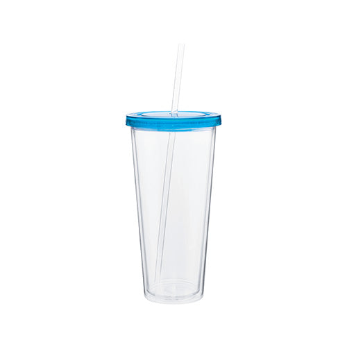 20 oz Spirit Acrylic Tumbler w/Color Lid,[wholesale],[Simply+Green Solutions]