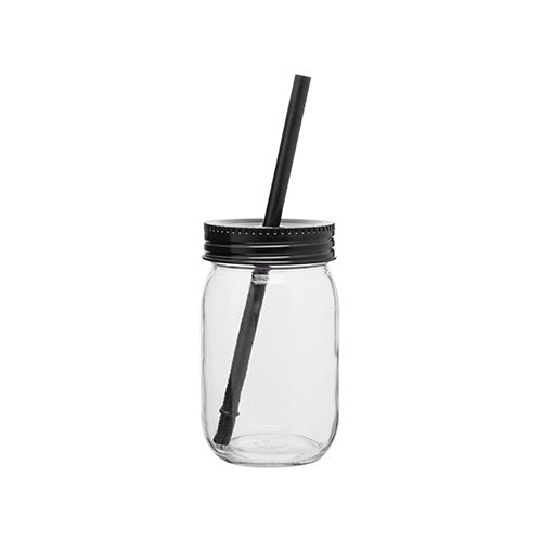 16 oz Glass Mason Jar w/Color Lid,[wholesale],[Simply+Green Solutions]