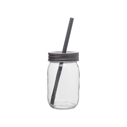 Blank 16 oz Glass Mason Jar w/Color Lid,[wholesale],[Simply+Green Solutions]