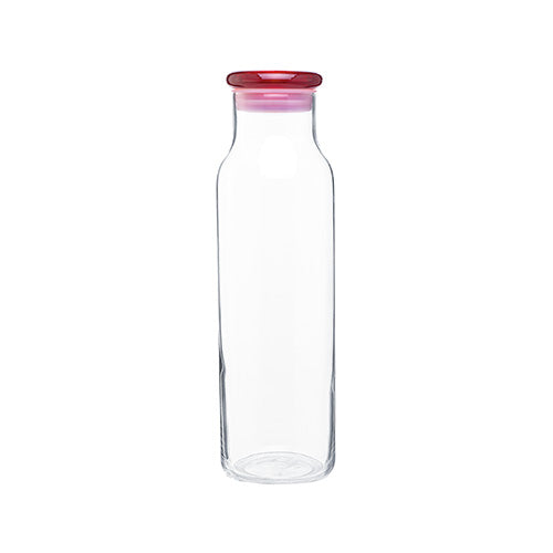 22 oz Glass with Colored Lid Vibe Water Bottles,[wholesale],[Simply+Green Solutions]