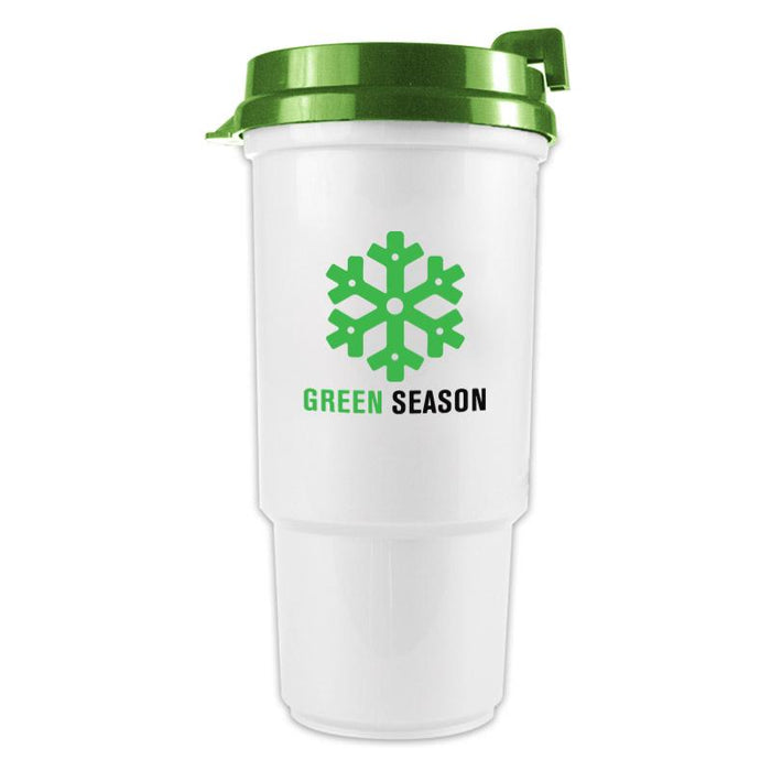 16 oz Auto Polypropylene Cup-DP (Pack of 250),[wholesale],[Simply+Green Solutions]