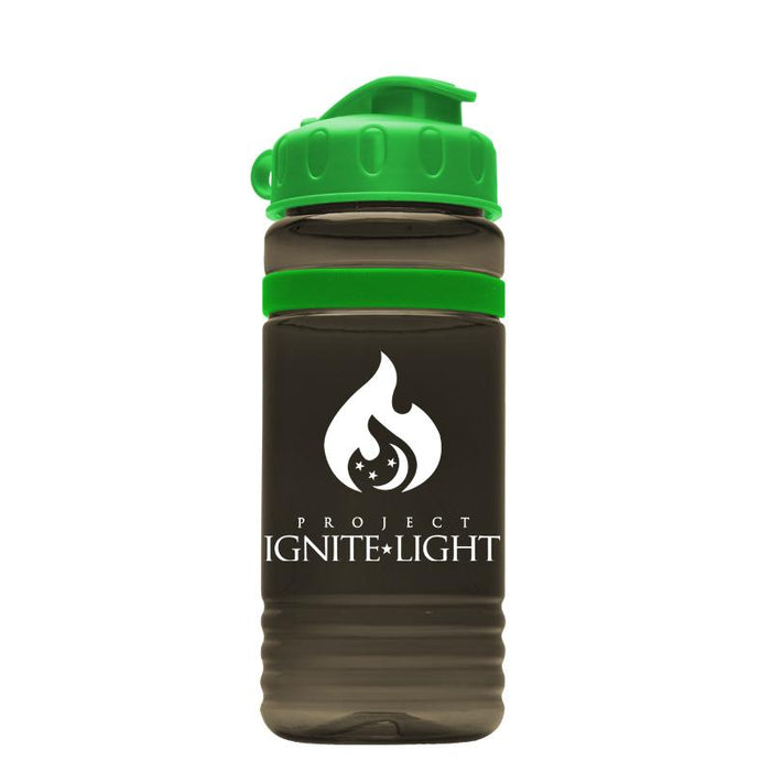 20 oz Tritan Stripe Bottle w/ Flip Lid (Pack of 200),[wholesale],[Simply+Green Solutions]