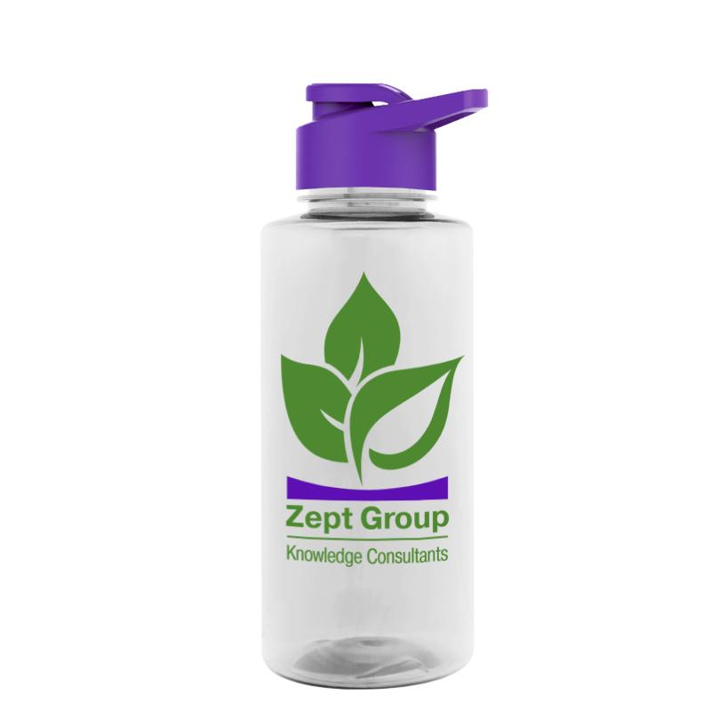 36 oz. Tritan Bottle - Drink-Thru Lid,[wholesale],[Simply+Green Solutions]