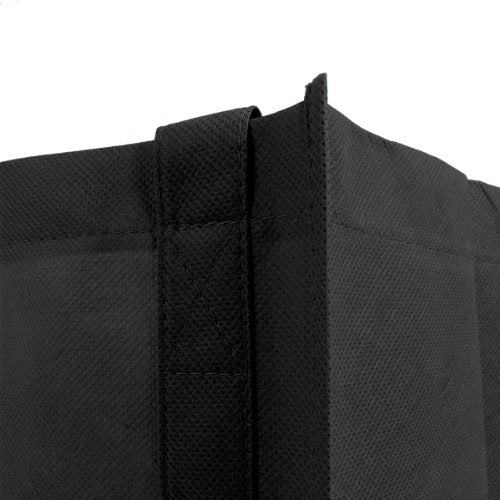 Reusable Reinforced Handle Grocery Tote Bag Large 10 Pack - 10 Color Variety,[wholesale],[Simply+Green Solutions]