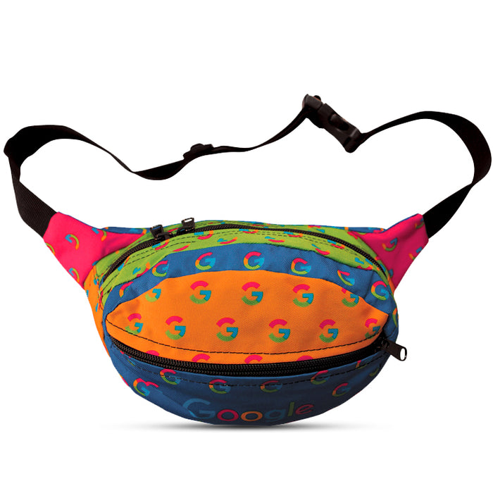 Fashion Full Color Front And Back Fanny Pack