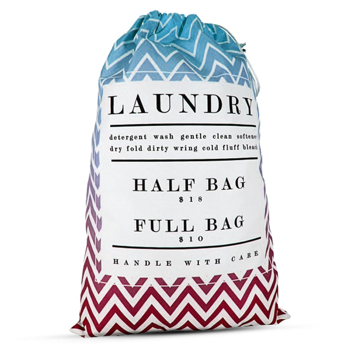 Small Laundry Bag - Full Color-Sewn in the USA