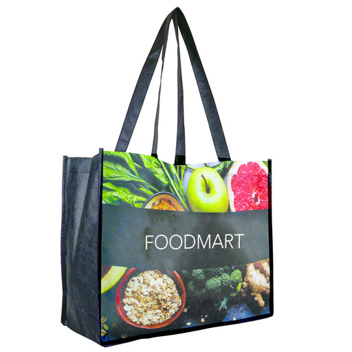 Wide Shopper Tote