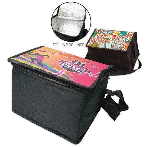 6 Pack Cooler - Full Color on Top