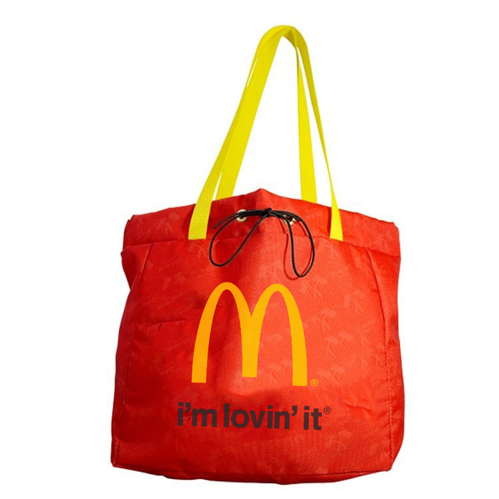 Drawstring Closure Tote - Full Color - Sewn in the USA