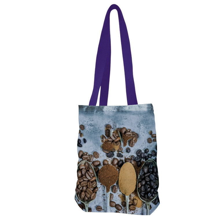 Small Bottom Gusset Vibrant Color - Cotton Tote