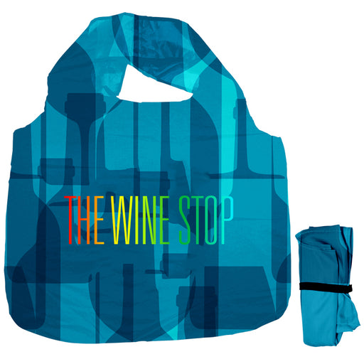 Roll-Up Grocery Tote w/Elastic Closure Strap
