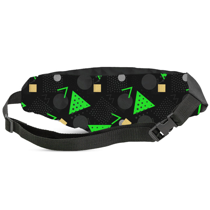 Wide Full Color Front And Back Fanny Pack