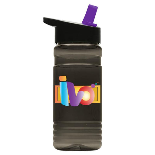 20 oz Tritan Bottle w/ Flip Straw Lid Digital (Pack of 200),[wholesale],[Simply+Green Solutions]
