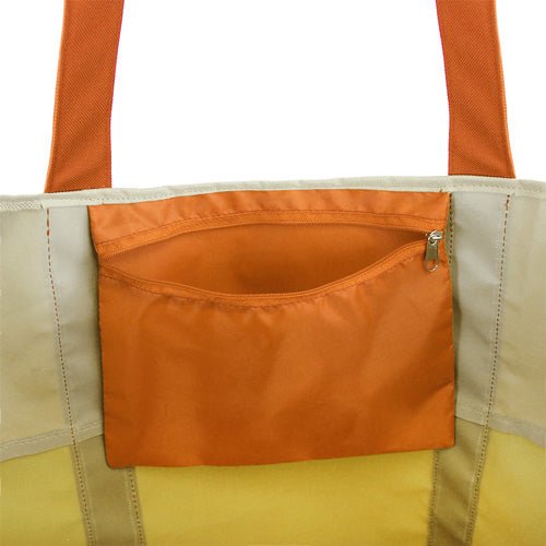 Canvas Beach Bag Dual Tone - Blank,[wholesale],[Simply+Green Solutions]