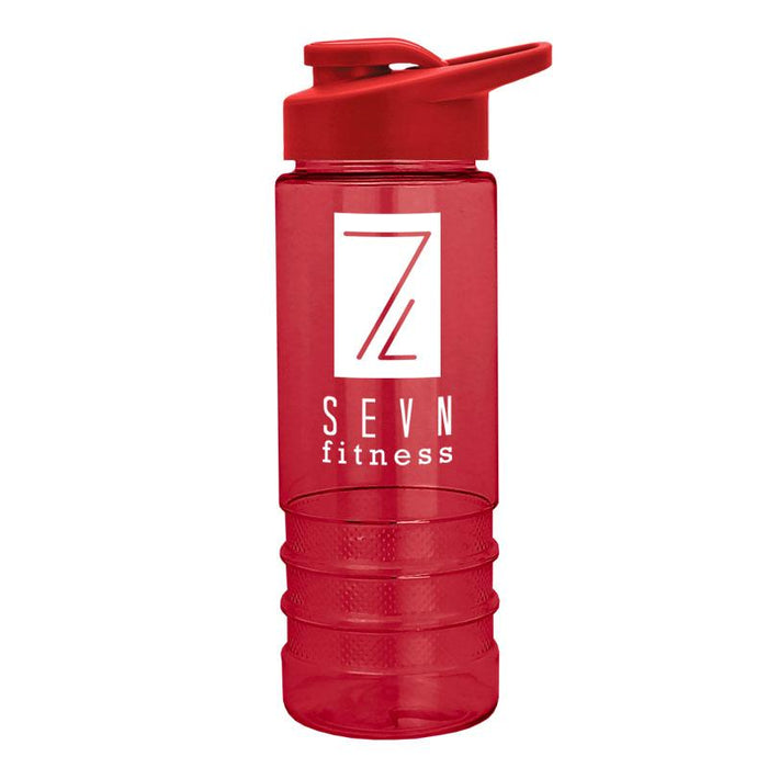 24 oz Salute2 Tritan Bottle with Drink w/ Thru Lid (Pack of 100),[wholesale],[Simply+Green Solutions]