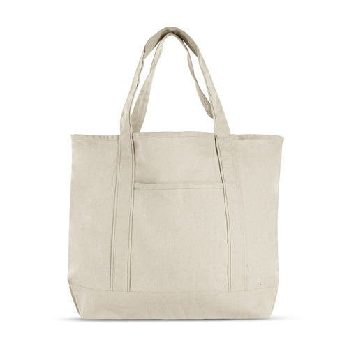 Cotton Canvas Deluxe Tote Bag,[wholesale],[Simply+Green Solutions]