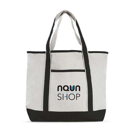 Cotton Canvas Deluxe Tote Bag