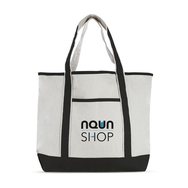 Blank Cotton Canvas Deluxe Tote Bag