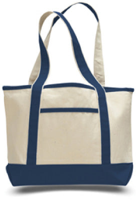 Cotton Small Canvas Deluxe Tote