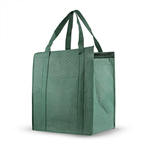 Blank Promotional Insulated Reinforced Shopping Bag *Stocked in the USA*,[wholesale],[Simply+Green Solutions]