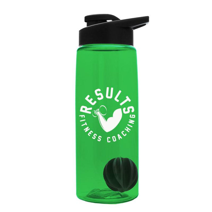 26 oz Tritan Flair Bottle w/ Mixer Ball ,[wholesale],[Simply+Green Solutions 427]