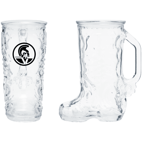 16 oz Boot Glass Mug,[wholesale],[Simply+Green Solutions]