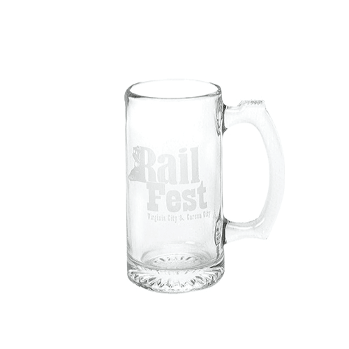 12.5 oz Glass Beer Mug (Made in USA)