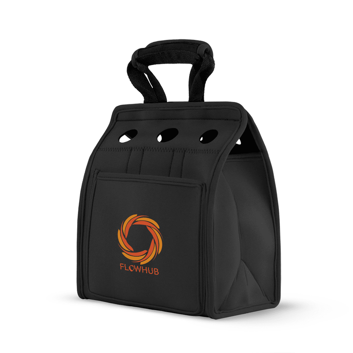 Six Bottle Neoprene Wine Tote,[wholesale],[Simply+Green Solutions]