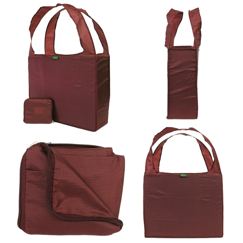 BLANK Polyester Z-Tote - Bag Ban Approved - 12 Pack - CLOSE OUT