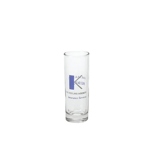 2-1/4 oz Clear Shooter Shot Glass