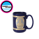 15 oz El Grande Coffee Mug w/Two Tone Gold (Pack of 36)