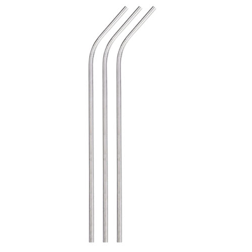"10.5"" Stainless Steel Curved Straws,[wholesale],[Simply+Green Solutions]"