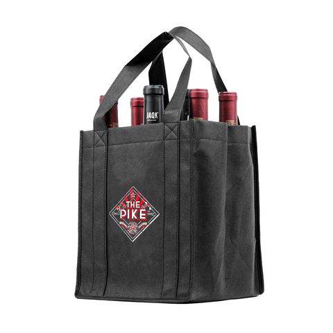 Six bottle Wine Tote, Double Layered *Fully Customizable*