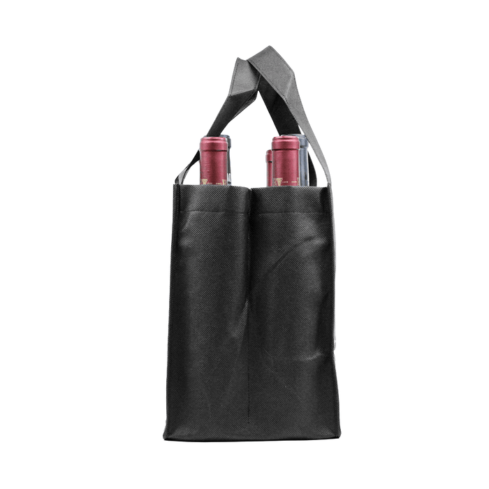 Six bottle Wine Tote, Double Layered *Fully Customizable*,[wholesale],[Simply+Green Solutions]