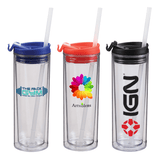 14 oz Double Wall Sip Top Tumbler