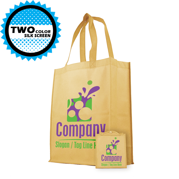 Foldable Grocery Tote *Fully Customizable* Bag Ban Approved,[wholesale],[Simply+Green Solutions]