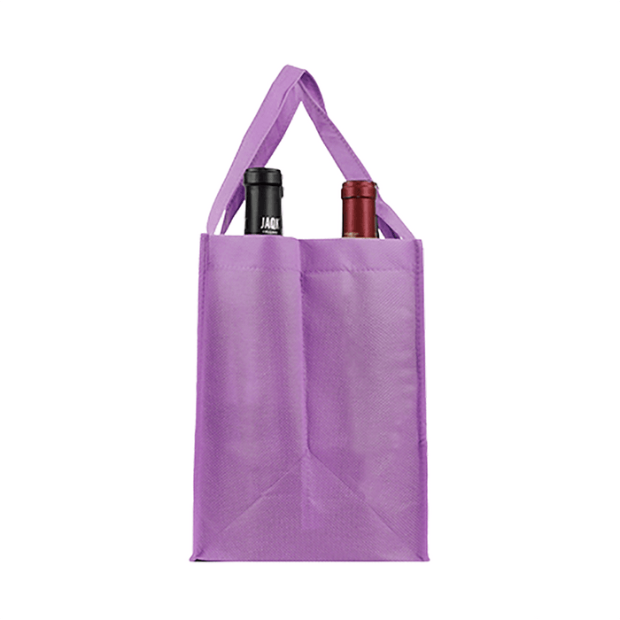 Four bottle Wine Tote, Reinforced Handles *Fully Customizable*,[wholesale],[Simply+Green Solutions]