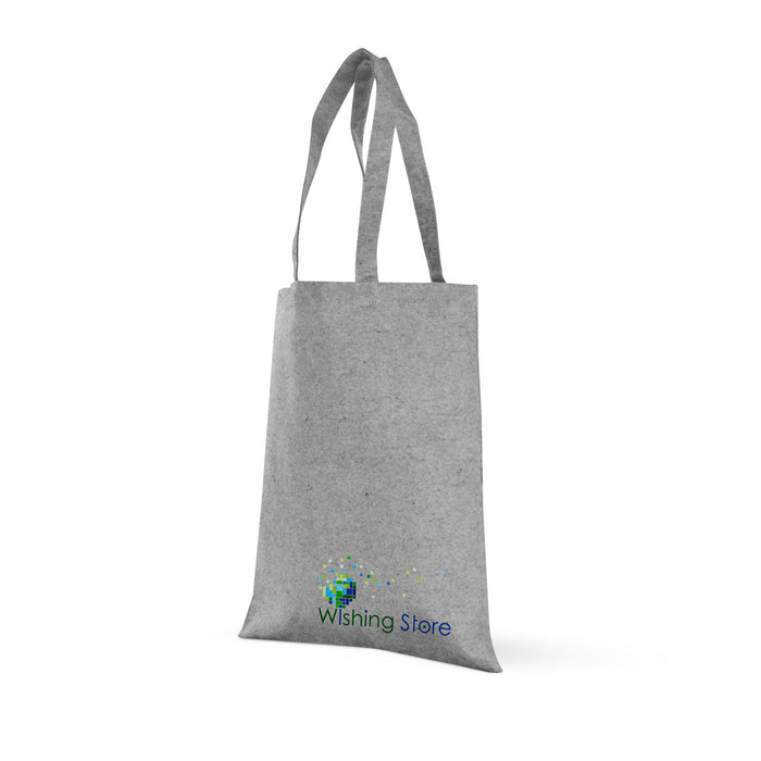 Grey Tweed Cotton Tote,[wholesale],[Simply+Green Solutions]