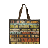 Non Woven Polypropylene Laminated Grocery Tote *Fully Customizable* Bag Ban Approved