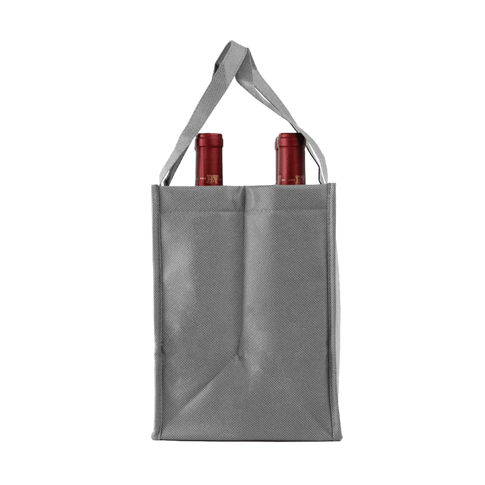 Four Bottle Wine Tote, Double Layered Premium Plus *Fully Customizable*,[wholesale],[Simply+Green Solutions]
