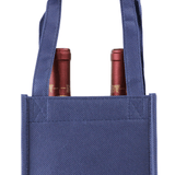 Two bottle Wine Tote, Double Layered Premium Plus  *Fully Customizable*