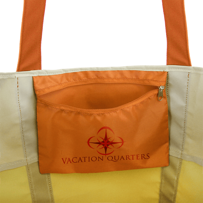 Canvas Beach Bag Dual Tone,[wholesale],[Simply+Green Solutions]