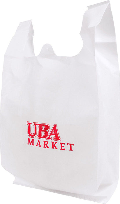 Non-woven Polypropylene T-shirt Reusable bag *Stocked in the USA* (Pack of 100),[wholesale],[Simply+Green Solutions]